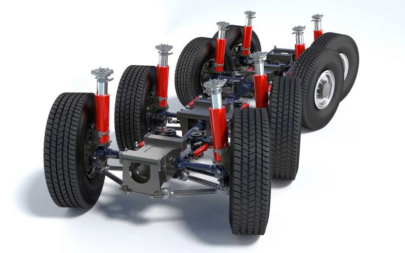 Axle technology for road vehicles
