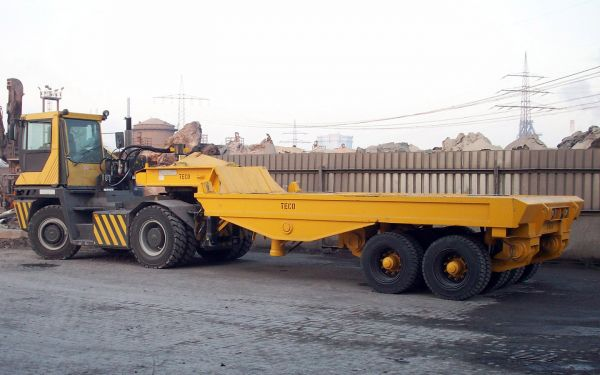 Pallet Lifttrailer with Payload of 70t