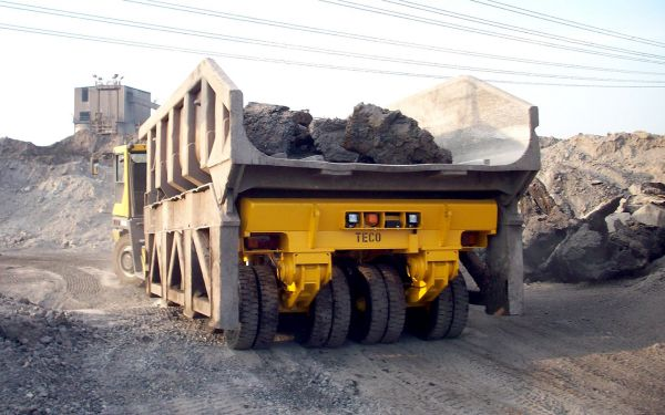 Palett Lifttrailer with dump pallet
