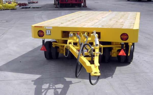 Heavy duty trailer for tools, payload of 50t