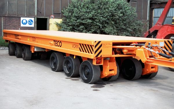 Heavy duty trailer for tools, payload of 120t