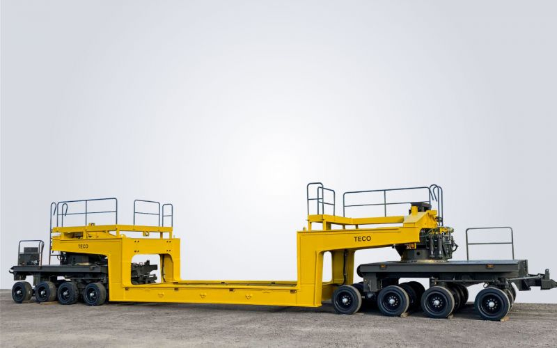 Low-loader trailer by TECO
